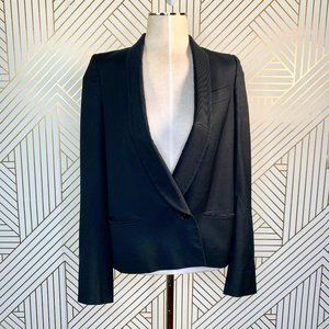 Stella McCartney Single Button Shawl Lapel Blazer